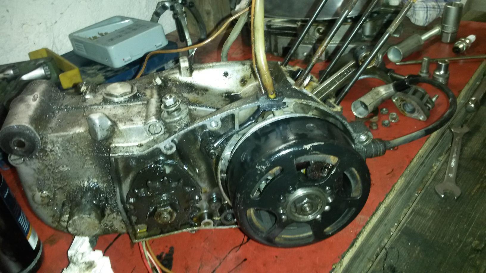 Motor ohne Kolben
