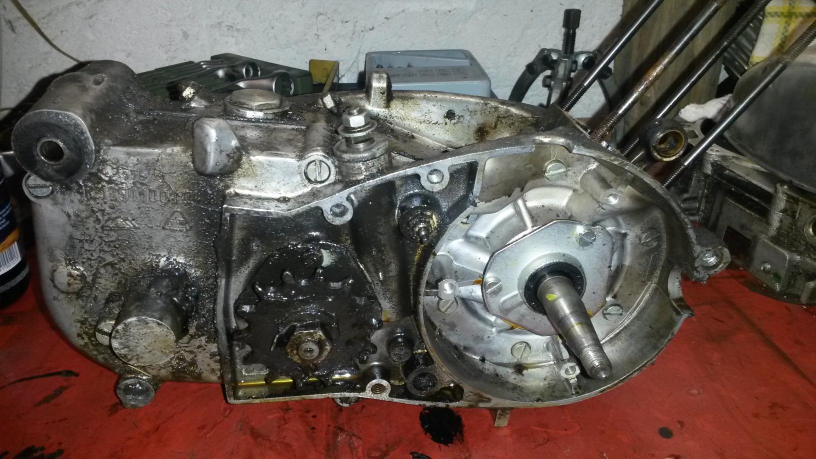 Motor ohne Lichtmaschine