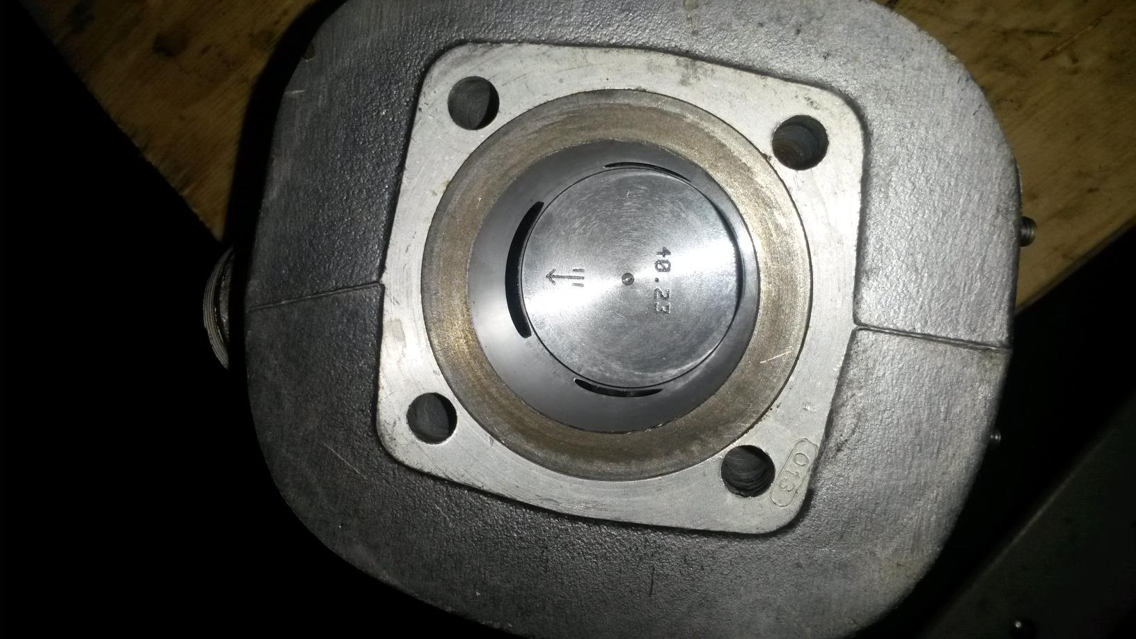 Geschliffener Zylinder